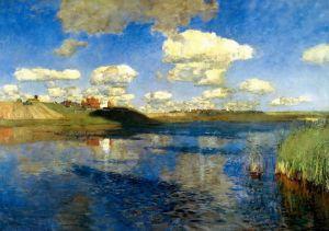 Левитан Исаак Озеро. Русь