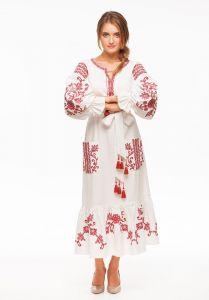"""Вишитое платье """"Вишневый сад"""""""