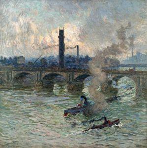 Клаус Эмиль Паровые лодки на Темзе