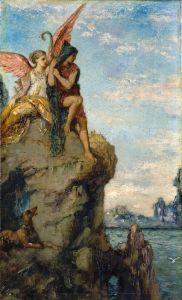 Символізм Гесіод і муза 2
