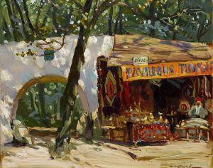 Печатные картины на холсте Лавка ковров