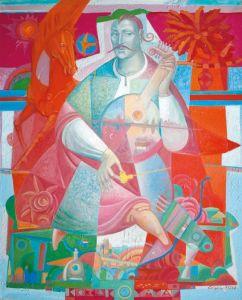 """Украинское современное искусство Из серии """"Казак Мамай"""" - 113"""