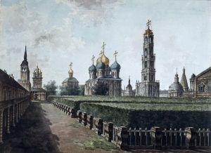 Алексеев Фёдор Панорамный вид Коломенского