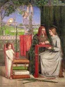 Россетти Данте Габриэль Богородица в детстве