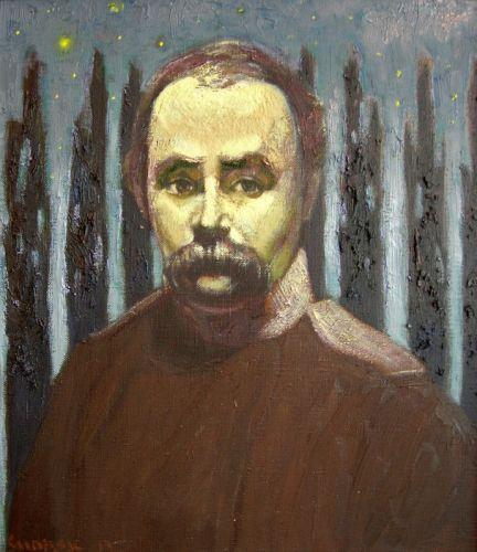 Портрет Т. Шевченка. Зоре моя вечірняя