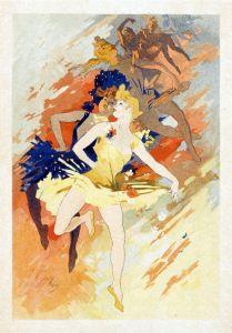 Модерн Select Plates from Les Maitres de l Affiche. La Danse