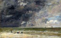 Пляж в Трувиле