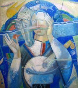 """Українське сучасне мистецтво Із серії """"Козак Мамай"""" - 89"""