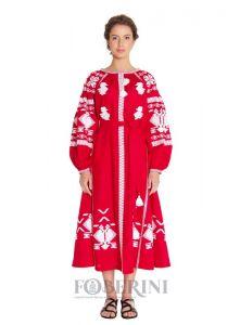 """FOBERINI Платье вышиванка  """"Червона рута"""""""