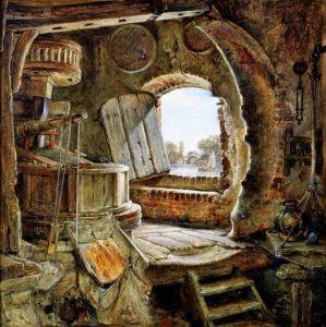 Романтизм Мельница отца Рембрандта