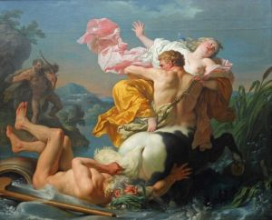 Лагрене Луи Жан-Франсуа Похищение Деяниры