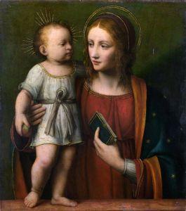 Луини Бернардино Мадонна с младенцем 2