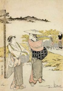 Східний живопис Збирачі чаю