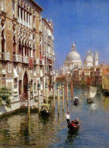 Санторо Рубенс Большой канал, Венеция
