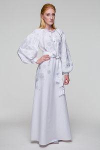 Свадебное платье Громовица серебряная