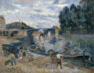 Гийомен Арман Мост Сюлли, Париж