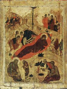 Рублев Андрей Рождество Христово