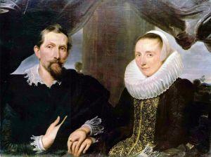 Ван Дейк Антонис Портрет Франса Снейдерса и его жены