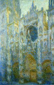 Моне Клод Руанский собор, западный фасад, полдень