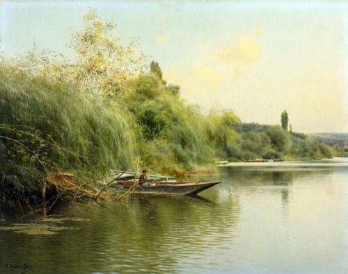 На березі річки