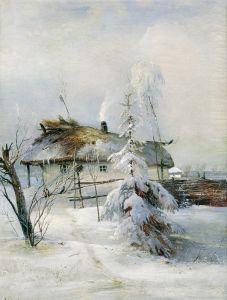 Саврасов Алексей Зима 2