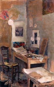 Галлен-Каллела Аксели Моя первая комната в Париже
