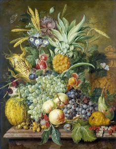 Линдхорст Якобус Натюрморт с фруктами