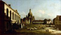 Новый рынок в Дрездене