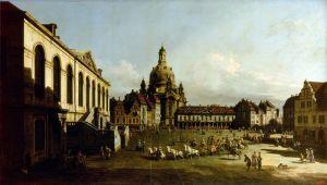 Рококо Новый рынок в Дрездене