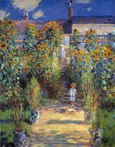 Моне Клод Сад художника в Ветёе