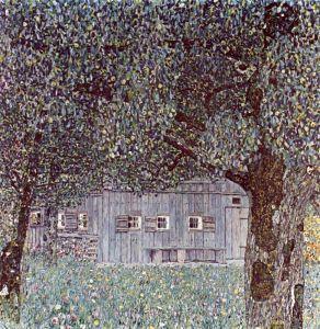 Климт Густав Сельский дом в Верхней Австрии