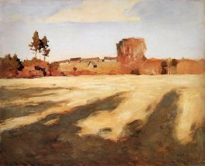 Левитан Исаак Сжатое поле