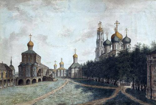 Соборна площа в Московському Кремлі