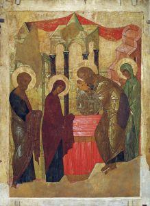 Рублев Андрей Сретение Господне