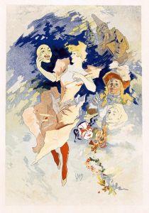 Модерн Select Plates from Les Maitres de l Affiche. La Comedie