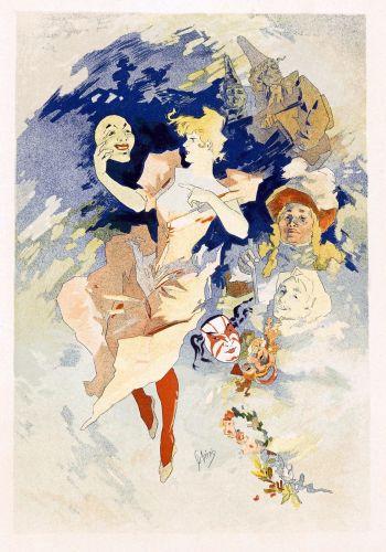 Select Plates from Les Maitres de l Affiche. La Comedie