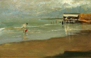 Соролья Хоакин Пляж в Галиции