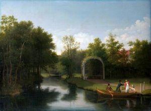 Іноземні класики Альтанка в парку садиби Зандерумгард