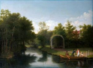 Класицизм Альтанка в парку садиби Зандерумгард