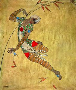 Арт-деко Нижинский в балете Золотая птица
