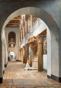 Класицизм Вид вид на церкву Сан-Лоренцо-фуорі Ле-Мура