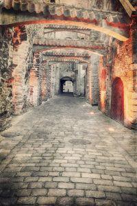 Фотокартины для интерьера Старая европейская улица