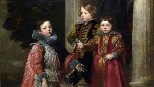 Дети семьи Бальби