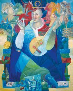 """Украинское современное искусство Из серии """"Казак Мамай"""" - 120"""