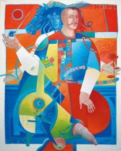 """Украинское современное искусство Из серии """"Казак Мамай"""" - 121"""