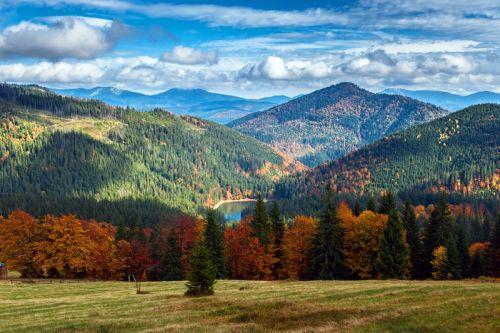 Карпати восени