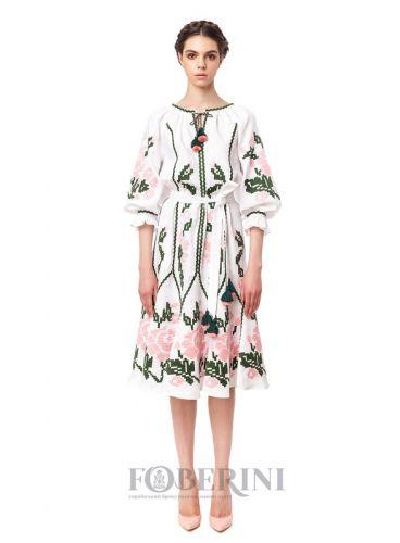 """Платье-вышиванка """"Марта"""" - изображение 1"""