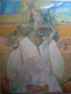 """Українське сучасне мистецтво Із серії """"Козак Мамай"""" - 100"""