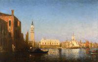Дворец Дожей, вид на канал делла Грация