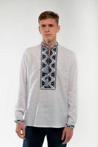 Мужские вышиванки Вышиванка мужская белая